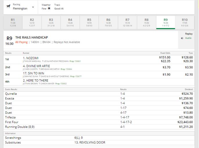 Nozomi $151 LA Rater